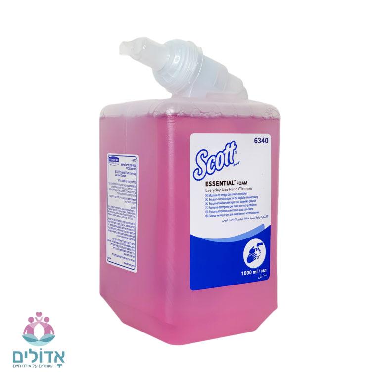 סבון קצף סקוט