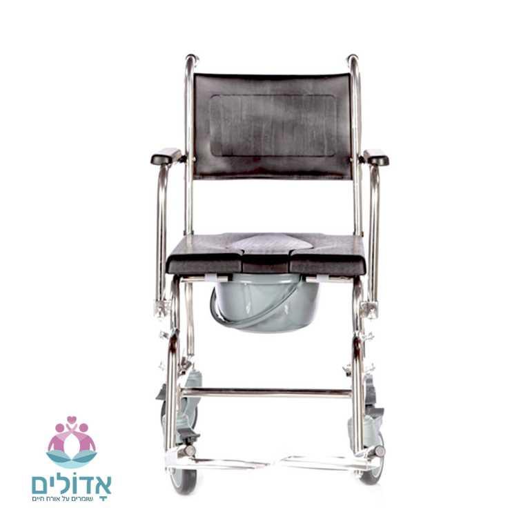 כיסא-שירותים-ורחצה-מושב-מרופד