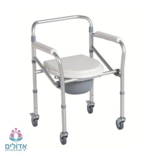 כיסא-רחצה-מתקפל-עם-גלגלים