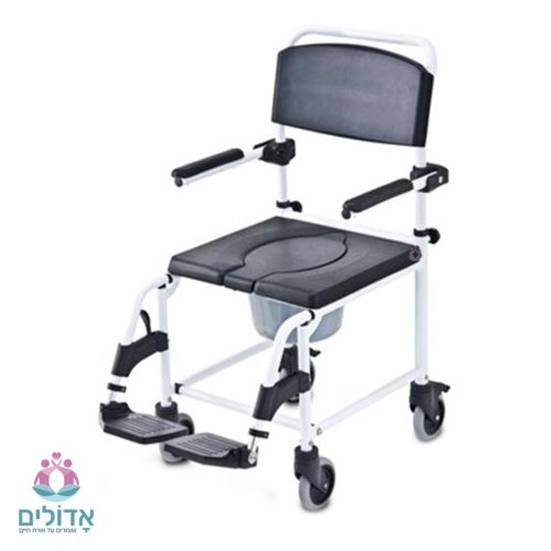 כסא-רחצה-אלומיניום-פתח-U